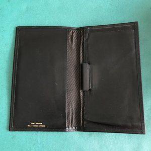 Prince Gardner Men's  Cowhide Black Wallet.